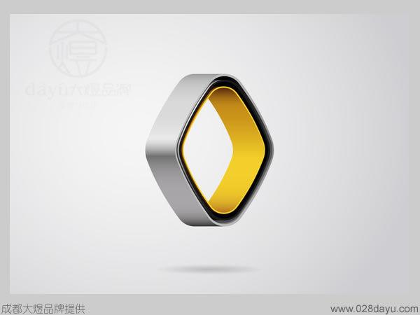 查看图片 法国雷诺汽车最新标志设计高清图片