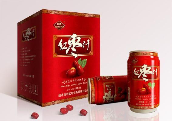 红枣汁饮品包装设计,上海饮料包装设计,饮料包装设计公司图片