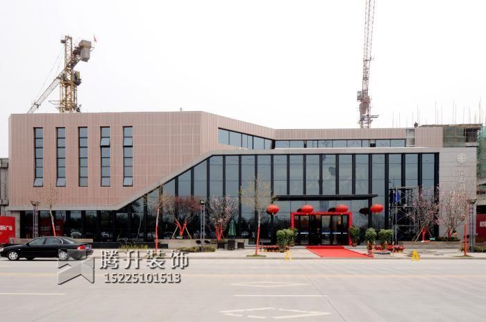 焦作龙源湖售楼处工程项目