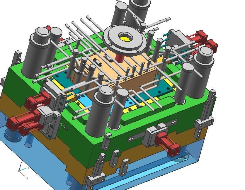 高级模具设计图片_高级模具设计_社热点模具设计与就业制造图片