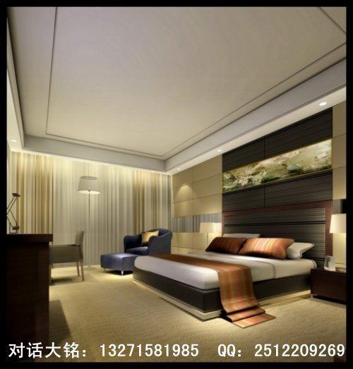 如何做好酒店客房设计 大铭装饰介绍 酒店设计装修 高清图片