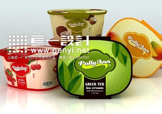 冷冻休闲食品包装设计
