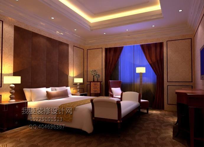 酒店装修效果图-酒店装修公司装修申报范围和规定高清图片