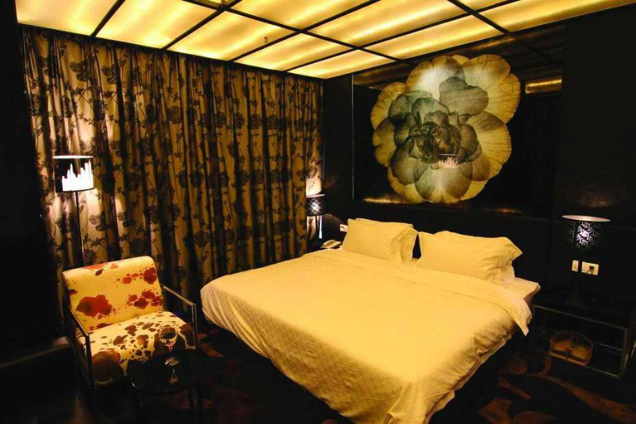简爱情侣酒店设计 酒店设计 设计案例