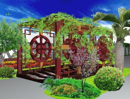 校园文化 设计 场馆建设之 景观小品 校园文化设图片