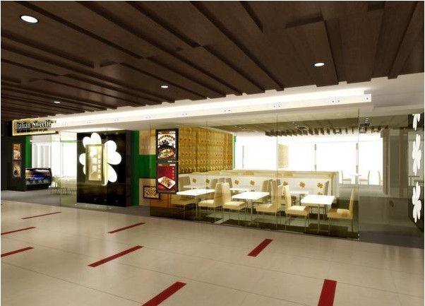 成都商场店铺装修效果图案例图片 - 设计师成都餐厅