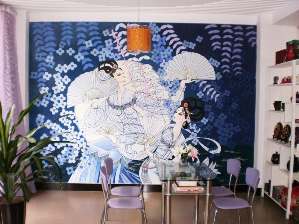 1案例图片 - 玉溪意境手绘壁画机构的空间 - 红动中国