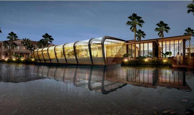 海南海口新埠岛建筑设计