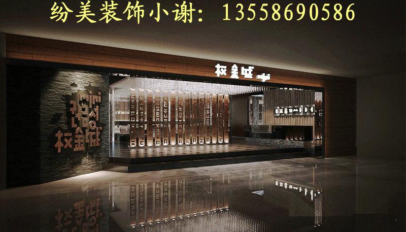 专业成都韩式烤肉店装修设计-餐饮类-设计案例 - 成都