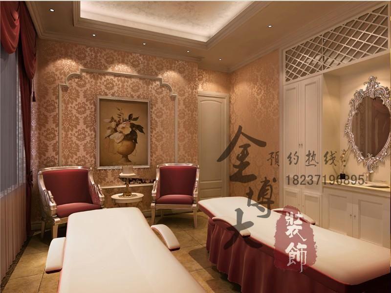 长葛spa女子美容院设计装修-郑州美容院会所设计-设计图片