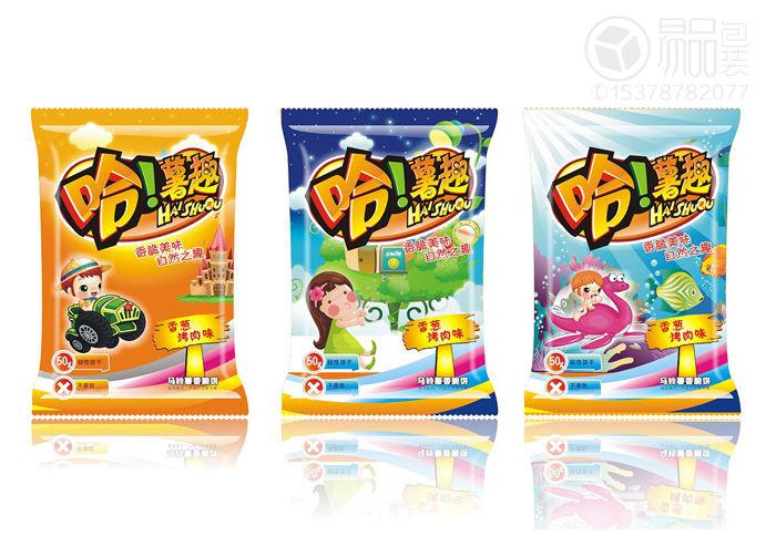 速冻食品包装袋子设计1图片