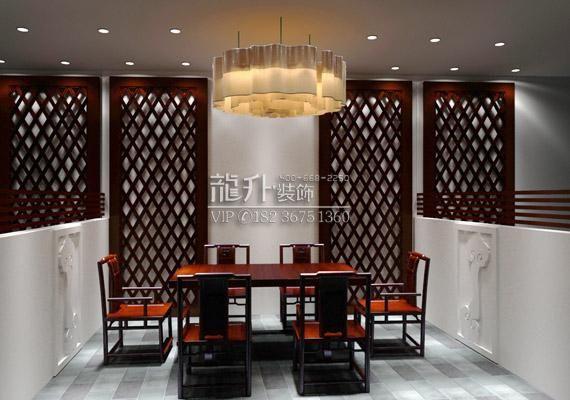 安阳茶楼装修效果图  鹤壁茶楼设计装修效果图 茶楼要简装 鹤壁茶楼设