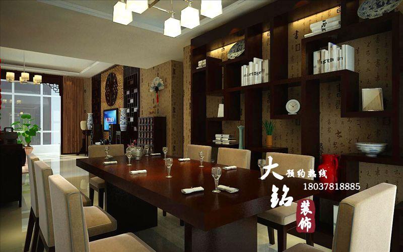 郑州样板房装修设计的空间 红动中国设计空间 郑州复式楼装修中式高清图片