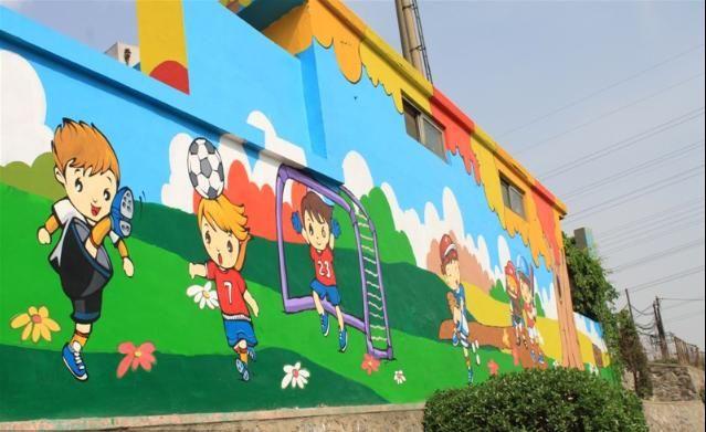 成都幼儿园彩绘 1