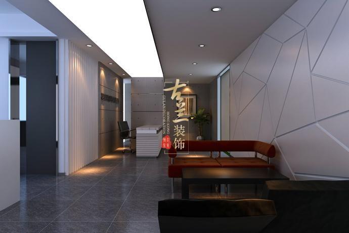 成都办公室装修与设计-百城信息办公室装修设计效果图-办公室装修与图片