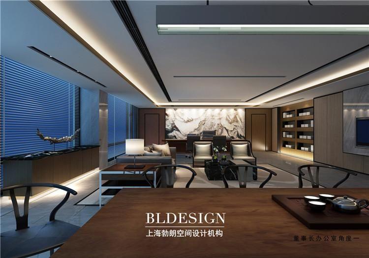郑州企业办公室设计美术,现代企业案例办公室设计高端平面设计学不学方案图片