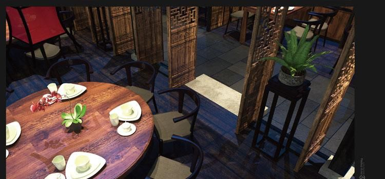 福州揽季月光主题餐厅设计123456