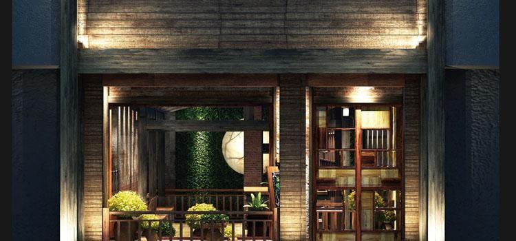 福州揽季月光主题餐厅设计12345678