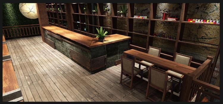 福州揽季月光主题餐厅设计1234567891011121314
