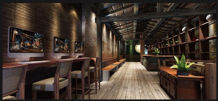福州揽季月光主题餐厅设计123456789101112131415
