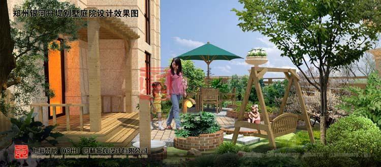 郑州日式别墅庭院花园设计的方法-梵意园林设计-公司