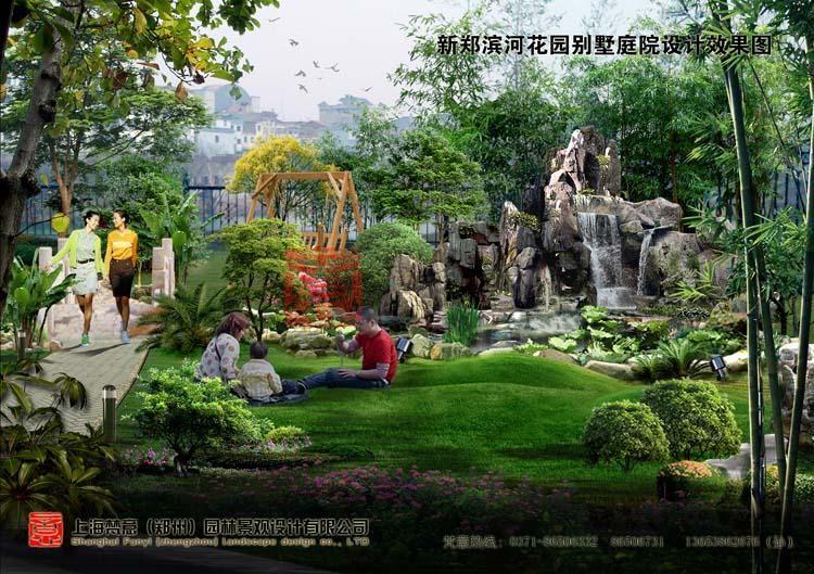 别墅别墅景观设计庭院要点义乌义亭图片