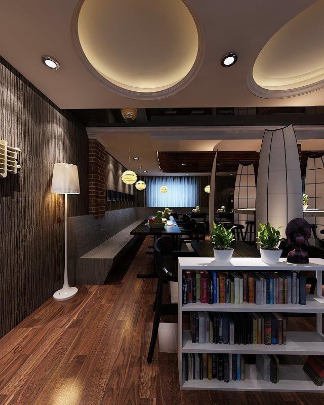 简欧错层客餐厅效果图1案例图片 - 设计师曾哈哈设计