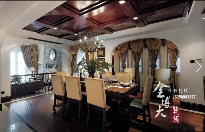 法式地中海风格别墅装修实景图-别样的法式地中海风格别墅设计高清图片