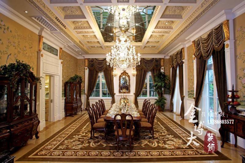 奢华欧式宫殿别墅装修设计