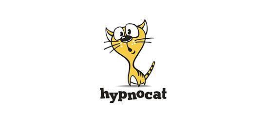 多款漂亮的猫科动物logo设计12345