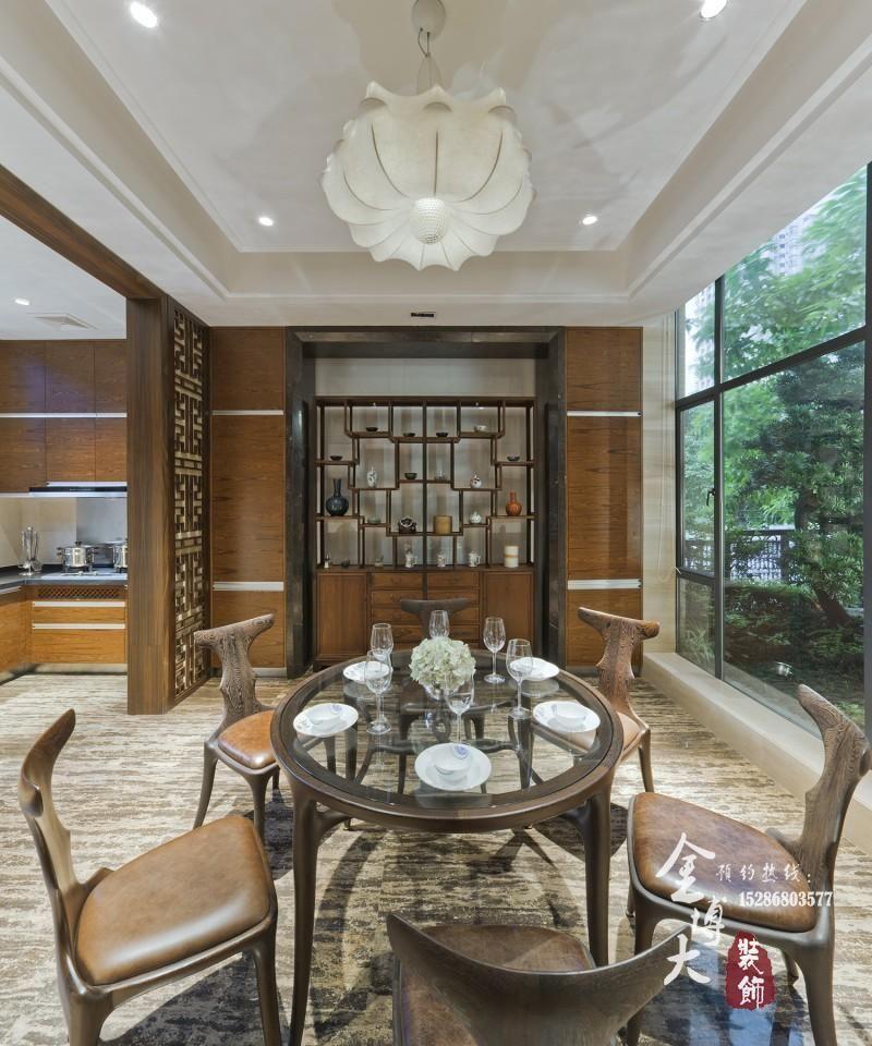 现代中式风格别墅室内设计案例-公司动态