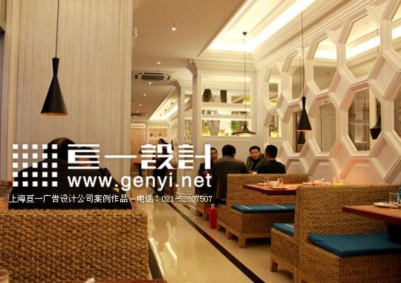 上海中式餐饮店装修设计,中式餐饮店logo设计公司,金佬馆酸菜鱼店面图片