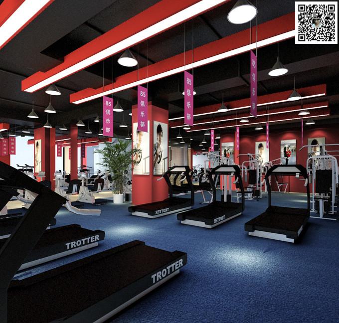 郑州舞蹈室装修设计12案例图片 郑州舞蹈室设计公司的空间 红动中国高清图片