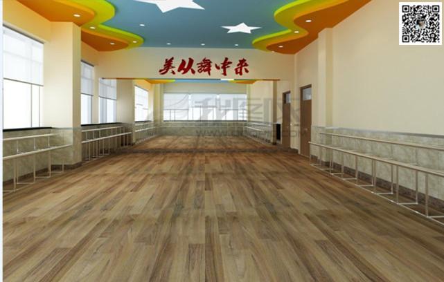 郑州舞蹈房装修设计123案例图片 郑州舞蹈室设计公司的空间 红动中国高清图片