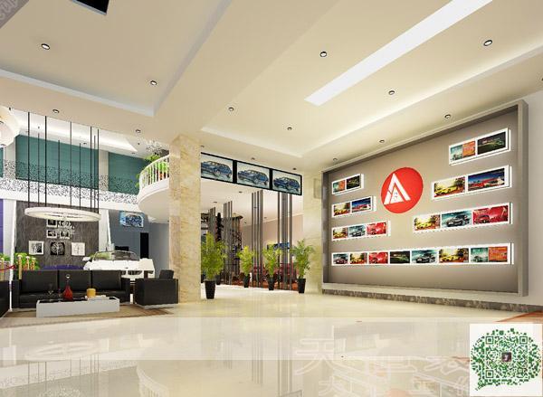 123案例图片 郑州展厅装修公司的空间 红动中国设计空间 4S汽车展厅装修公司 展厅装修