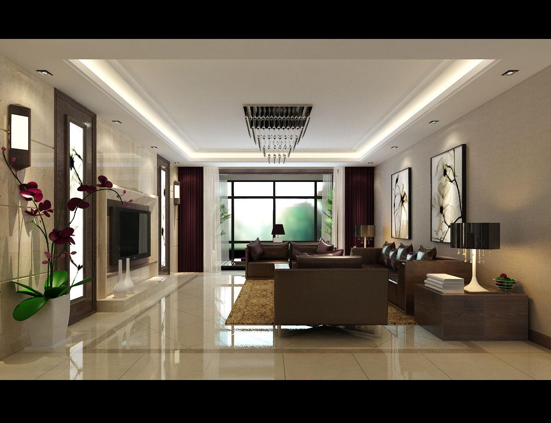 昌建誉峰148平方三室装修设计-美巢装饰三室装修设