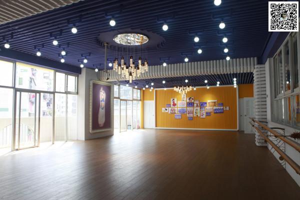 红动中国设计空间 郑州舞蹈室设计公司 郑州舞蹈室装修设计公司高清图片