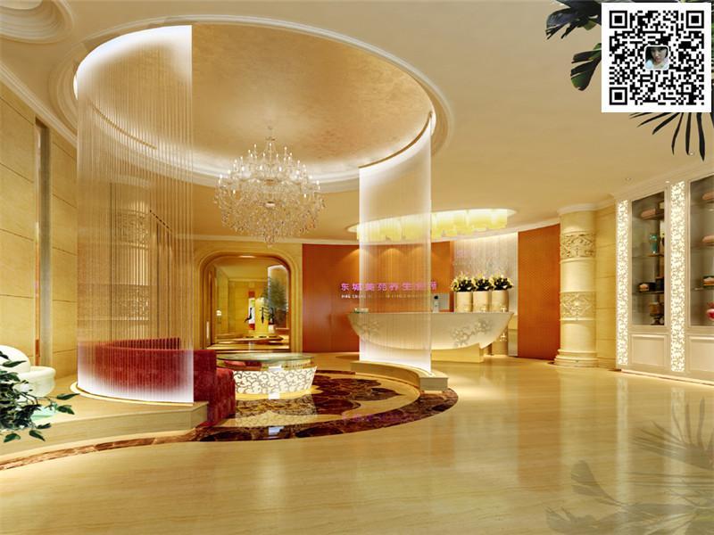 平顶山美容院装修12案例图片 郑州美容会所设计公司的空间 红动中国高清图片