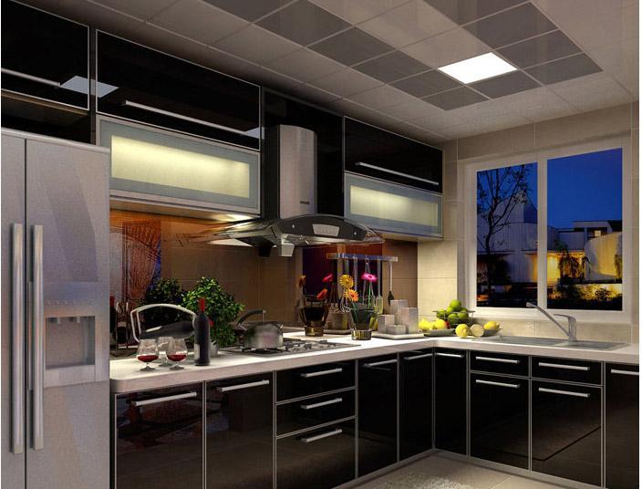正商恒钻125平三室两厅现代简约风装修效果图12高清图片
