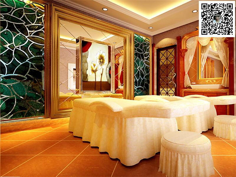 郑州美容院装修设计公司图片