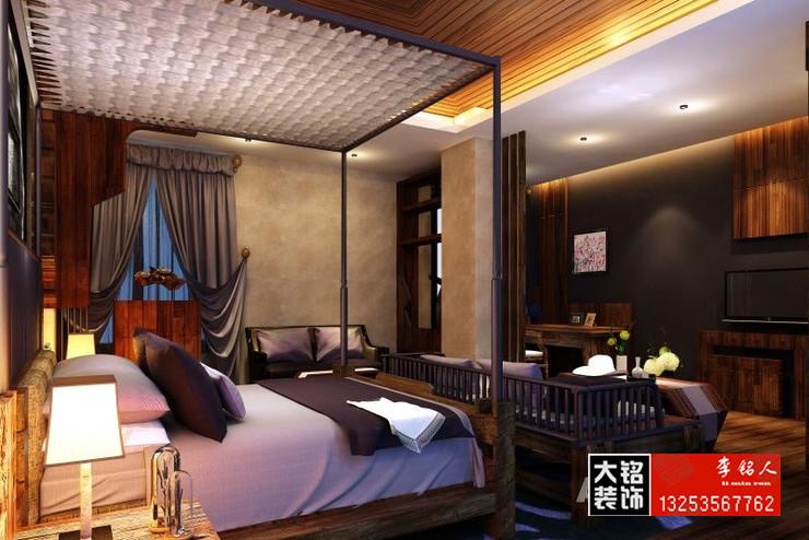 荷塘月舍主题客栈装修 主题酒店装饰设计公司