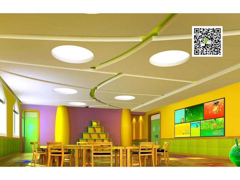 郑州幼儿园装修设计12案例图片 郑州幼儿园设计公司的空间 红动中国高清图片