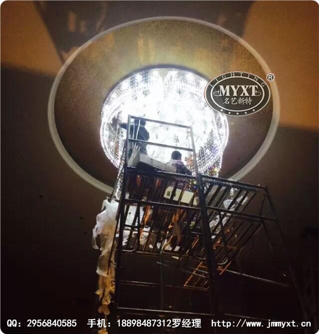 1案例图片 - 江门名艺新特灯饰有限公司酒店工程水晶