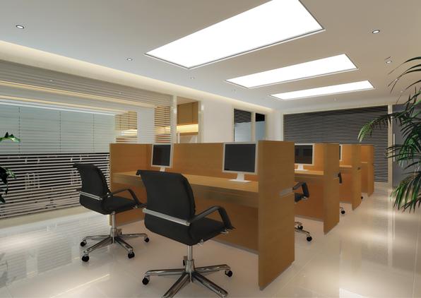 东方国际广场办公室装修设计案例12345