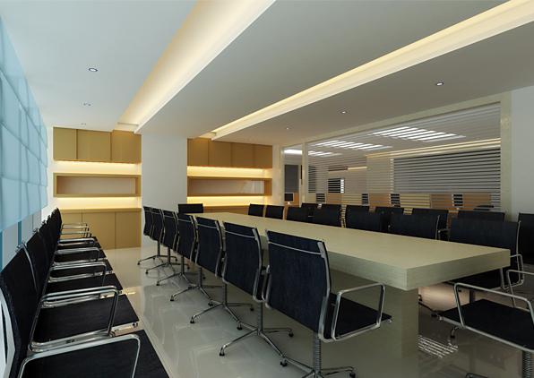 东方国际广场办公室装修设计案例123456