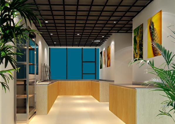 东方国际广场办公室装修设计案例