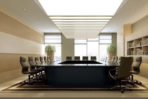 东方陆港办公室装修设计案例