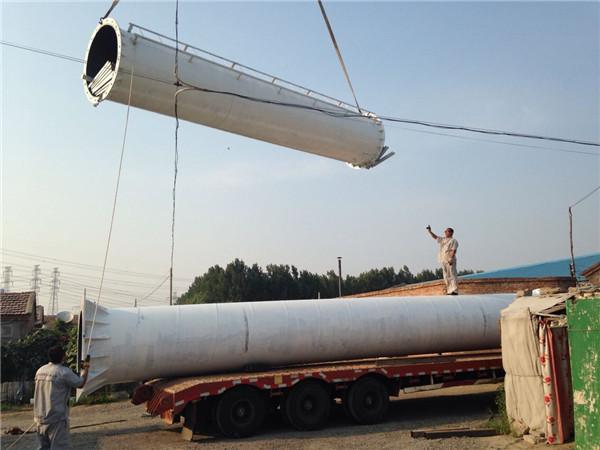 高炮广告塔制作-单立柱-设计案例