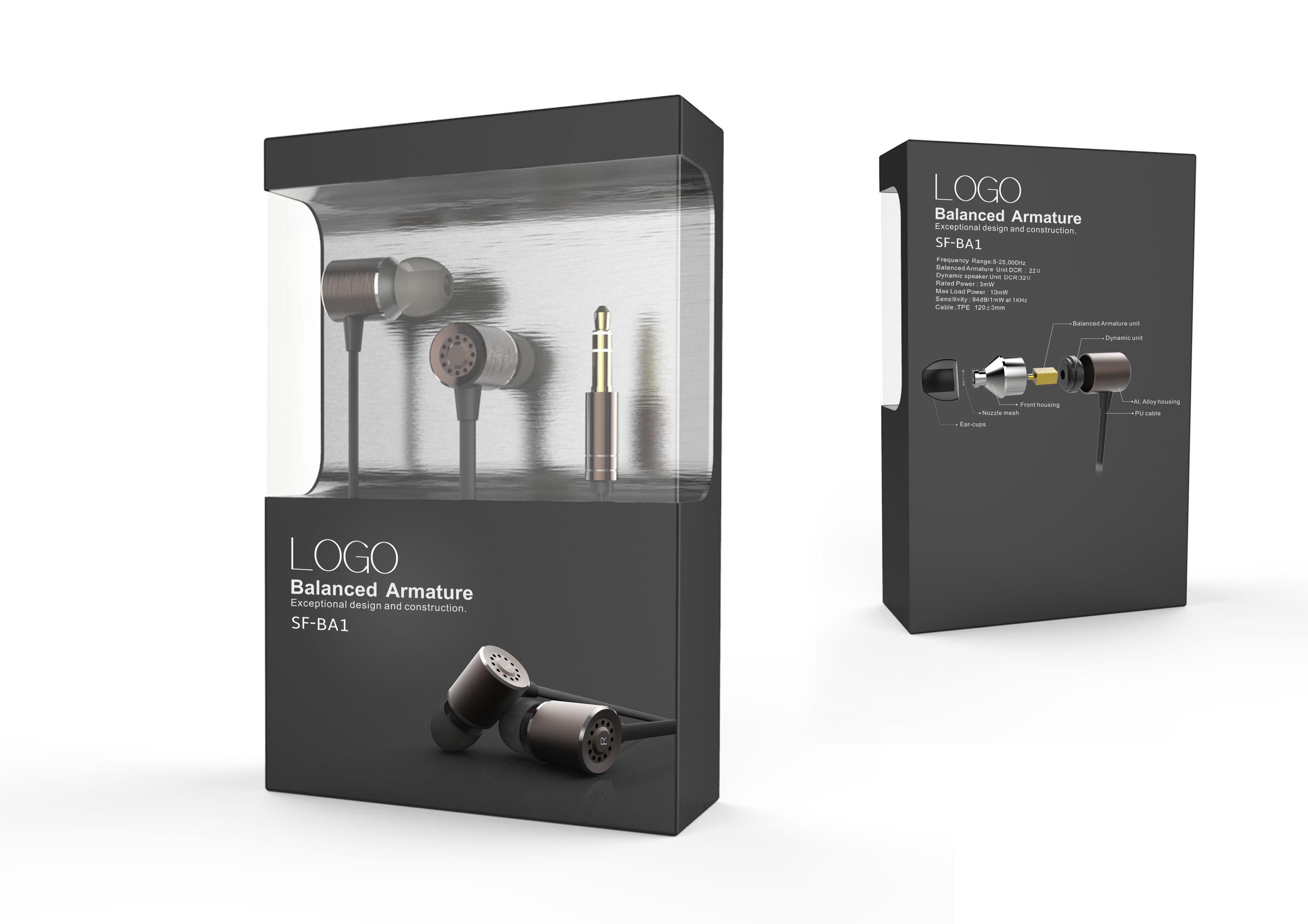 动铁耳机包装1