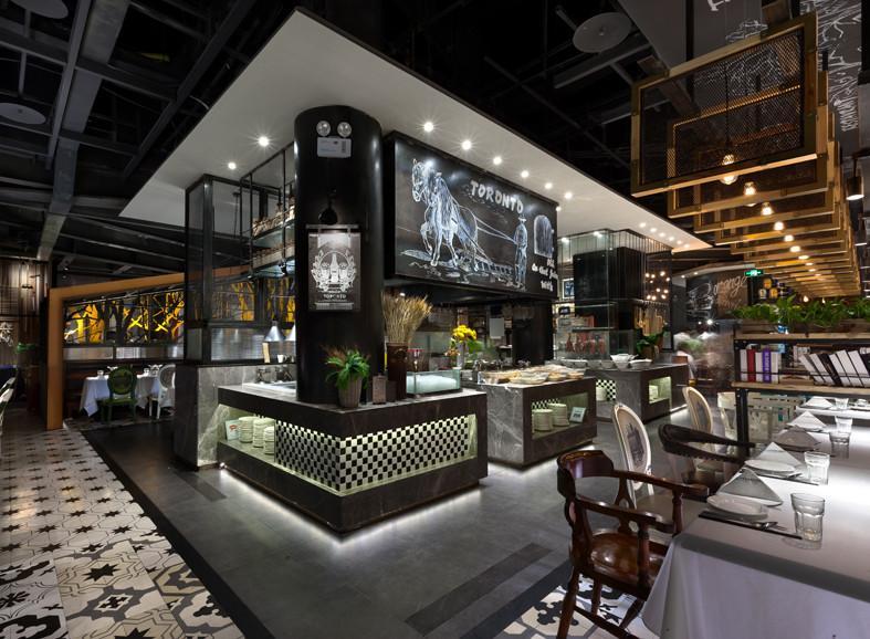 toronto主题餐厅设计-餐厅设计-设计案例